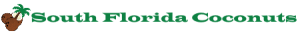 South Florida Coconuts Logo and Title